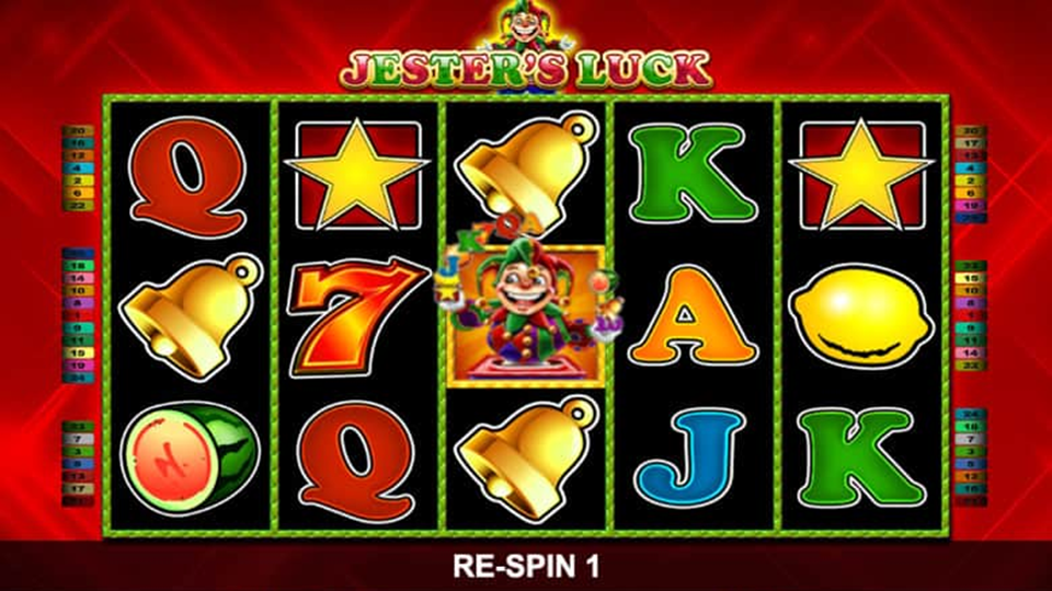 Try luck with Jesters Jackpot